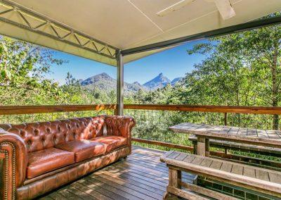 Secret Cabin verandah