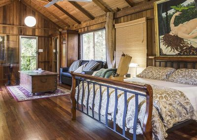 Log Cabin studio-style