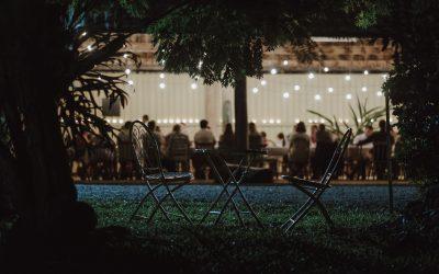 The Evening that was – Mavis's longest table