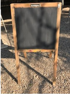 A Frame Chalk Board $25 each