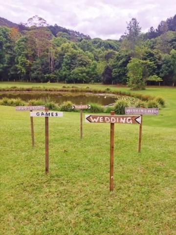 Garden signs $25