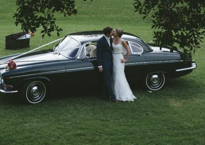 Jaguar 420G Wedding Saloon