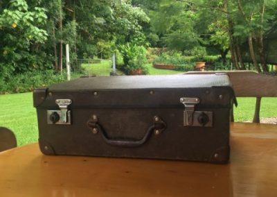 Vintage suitcase $25