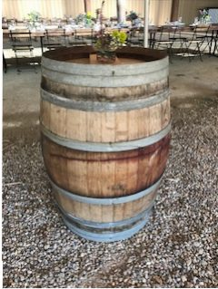 Rustic Wine Barrel $50 each