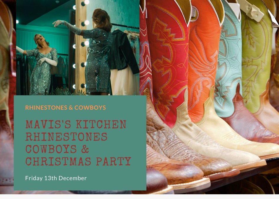 Rhinestones & Cowboys Christmas Party  Friday 13th December