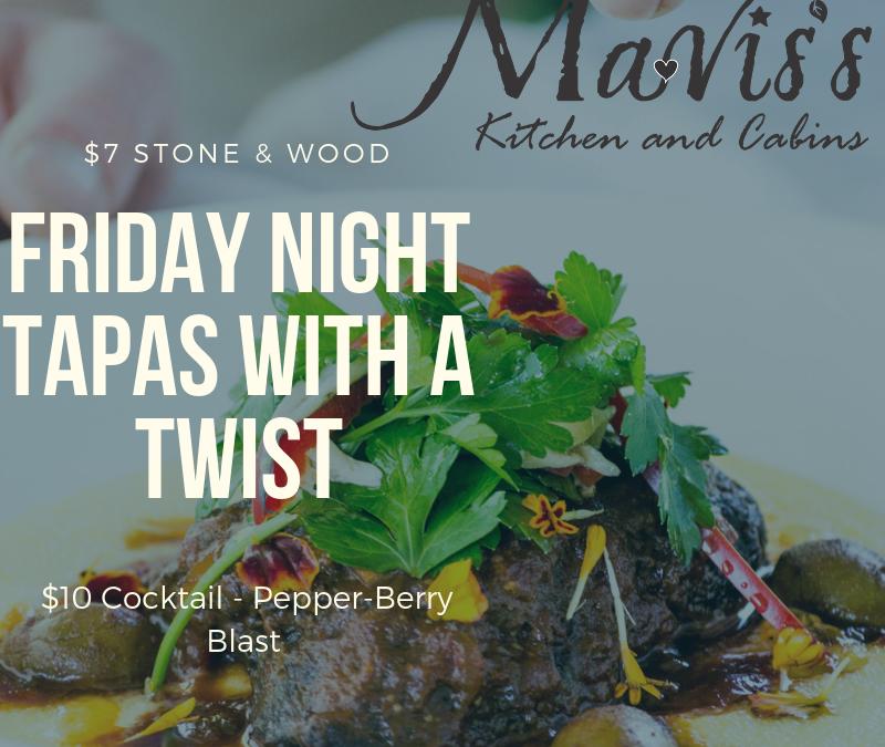 Friday Night Tapas & Burgers